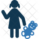 Voodoo Doll Doll In Hand Female Doll Hand Icon