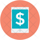 Dollar Sign Mobile Icon