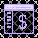Dollar Currency Window Icon