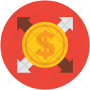 Dollar Arrows Business Icon
