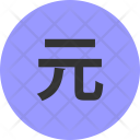 Taiwan New Dollar Icon