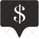 Dollar Tag Place Icon