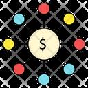 Dollar Setting Network Icon