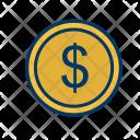Dollar Euro Coin Icon