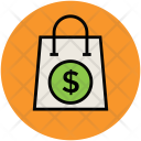 Dollar Sign Online Icon