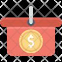 Dollar E Commerce Icon