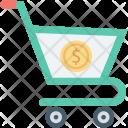 Dollar Ecommerce Shopping Icon