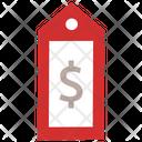 Dollar Dollar Tag Sale Tag Icon