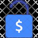 Dollar Dollar Unlock Unlock Icon