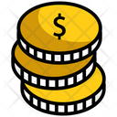 Dollar Dollar Coin Pay Amount Icon