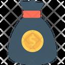Dollar Dollar Pouch Dollar Sack Icon