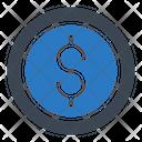 Dollar Graph Chart Icon