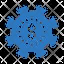 Dollar Seo Marketing Icon