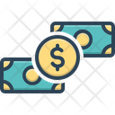 Dollar Legal Tender Currency Icon