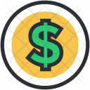 Dollar Currency Sign Icon