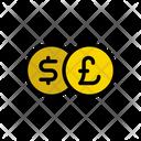 Dollar Pound Money Icon