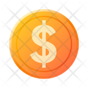 Dollar Investment Bank Icon