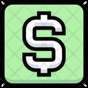 Business Financial Dollar Icon