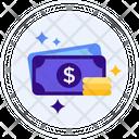 Fiat Money Dollar Money Icon