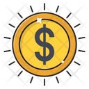 Dollar Currency Pay Icon
