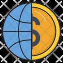 Dollar Global Finance Icon