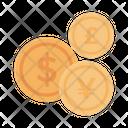 Dollar Yen Pound Icon