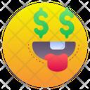 Dollar Money Emoji Icon