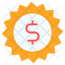 Black Friday Dollar Cyber Monday Icon