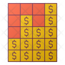 Dollar Graph Finance Icon