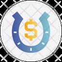Gambling Dollar Lucky Icon