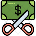 Dollar Scissors Price Icon
