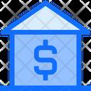 Dollar Home Estate Icon