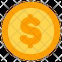 Dollar Coin Cash Icon