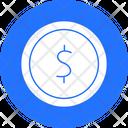 Dollar Cash Coin Icon