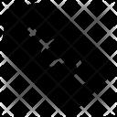 Dollar Tag Label Icon