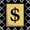 Dollar Calendar Date Icon