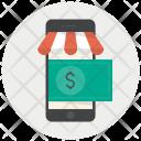 Dollar Online Shop Icon