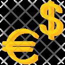 Dollar Us Euro Icon