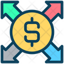 Dollar Send Payment Icon