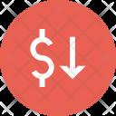 Dollar Exchange Rate Icon