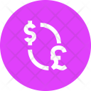 Dollar Pound Currency Icon