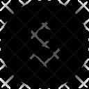 Dollar Coin Sign Icon