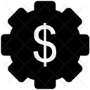Dollar With Cog Icon
