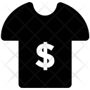 Dollar Shirt Tee Icon