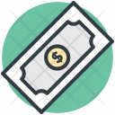 Dollar Bill Banknote Icon