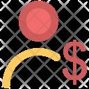 Dollar Valuation Finance Icon