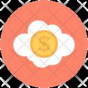 Dollar In Cloud Icon