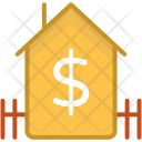 Dollar Home House Icon