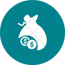 Dollar Currency Sack Icon
