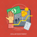 Dollar Investment Business Icon